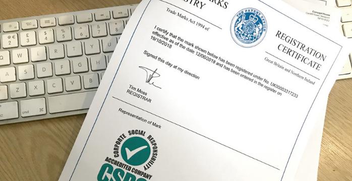 CSR Accreditation Trade Mark