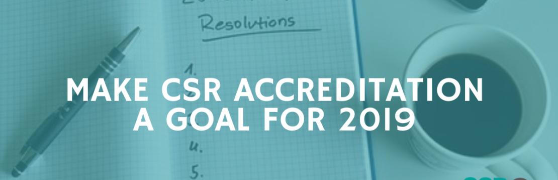 CSR Accreditation 2019