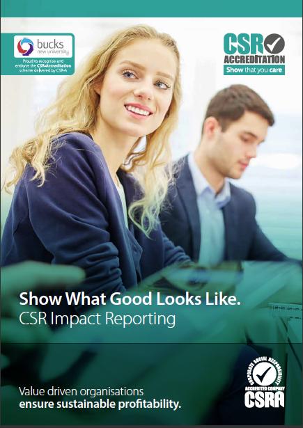 CSR Impact report cover