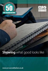 CSR-A First 50 CSR Accreditations Book