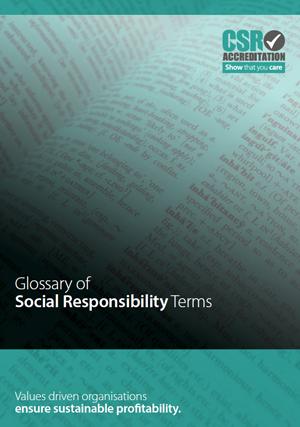 CSR Glossary