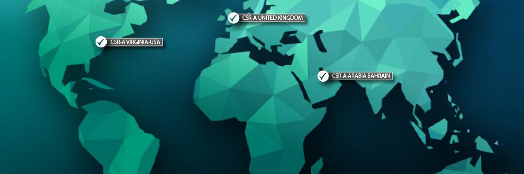 CSR World Addreses Map